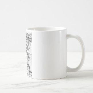 Caneca De Café Algodão-carretel e o número
