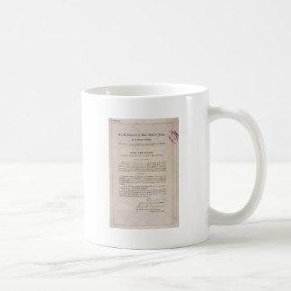 Caneca De Café Alteração da proibição 18a