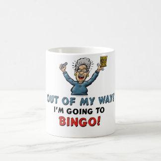 Caneca De Café Amantes do Bingo