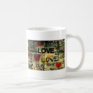 Caneca De Café Amor Amor Amor Love Love Love