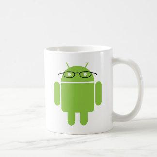 Caneca De Café Android do nerd