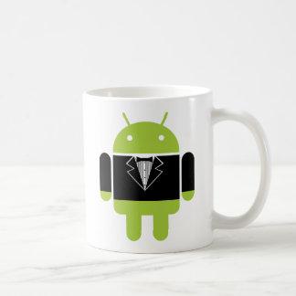Caneca De Café Android Tux
