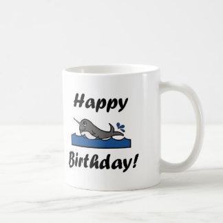 Caneca De Café Aniversário Narwhal