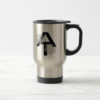 Caneca de café apalaches da pata de urso da fuga