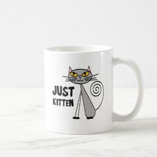 Caneca De Café Apenas gatinho