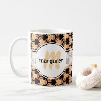 Caneca De Café Aqueça e dando boas-vindas ao monograma