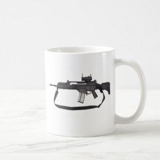 Caneca De Café Arma automática G36