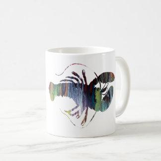 Caneca De Café Arte da lagosta
