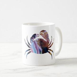 Caneca De Café Arte do caranguejo