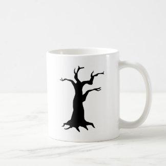 Caneca De Café Árvore assombrada