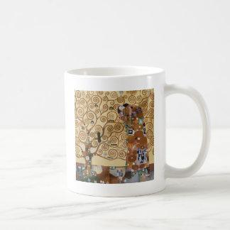 Caneca De Café Árvore de Gustavo Klimt de vida