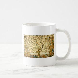 Caneca De Café Árvore de vida por Gustavo Klimt