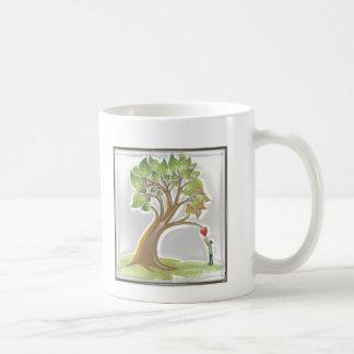 Caneca De Café Árvore do ensino especial