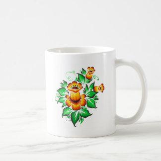 Caneca De Café As flores do amarelo