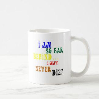 Caneca De Café Até agora atrás