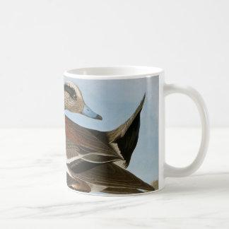 Caneca De Café Audubon: Wigeon