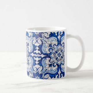 Caneca De Café Azulejos vitrificados Azulejo do português