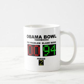 Caneca De Café Bacia de Obama - contabilização oficial