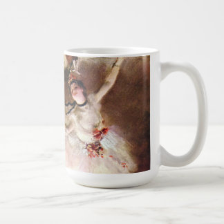 Caneca De Café Bailarina de Prima, Rosita Mauri por Edgar Degas