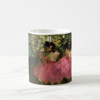 Caneca De Café Bailarinas no rosa por Edgar Degas