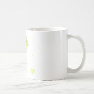 Caneca De Café Balão & corações do limão