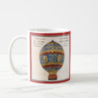Caneca De Café Balão de ar quente dos irmãos de Montgolfier