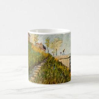 Caneca De Café Bancos de Van Gogh do Seine com Pont de Clichy