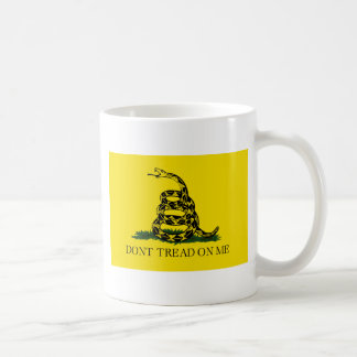 Caneca De Café Bandeira de Gadsden - não pise em mim - cobra