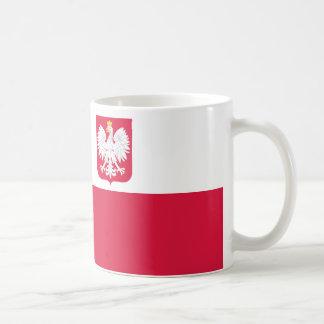 Caneca De Café Bandeira do Polônia