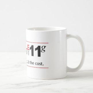 Caneca De Café Base de dados 11g do obstáculo