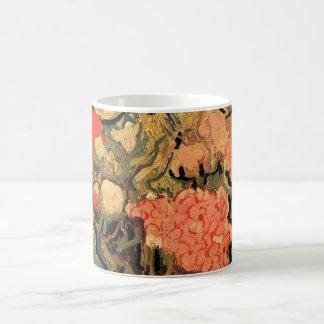 Caneca De Café Belas artes de Van Gogh, vaso com as flores do