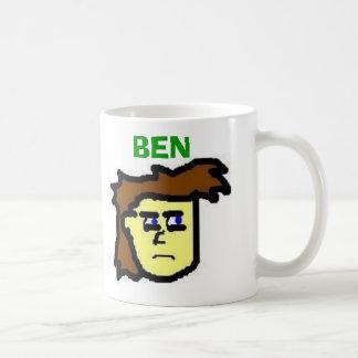 Caneca De Café Ben, BEN, nós obtivemo-lo lhe todo o rebentado