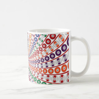Caneca De Café Bilhar/espiral bolas de piscina: