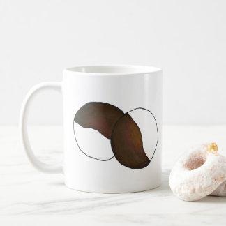 Caneca De Café Biscoito preto e branco Foodie da Nova Iorque NYC