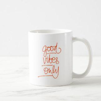 Caneca De Café Boas Vibrações - Good Vibes