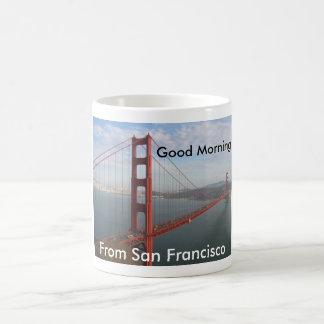 Caneca De Café Bom dia de San Francisco