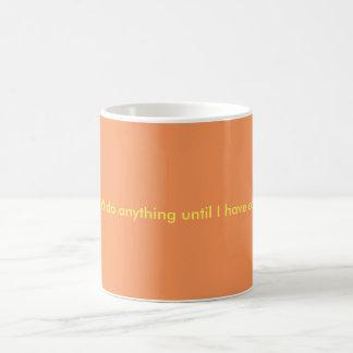 Caneca de café bonito das citações