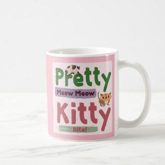 Caneca de café bonito do gatinho