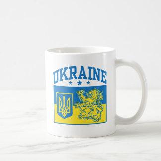 Caneca De Café Brasão de Ucrânia
