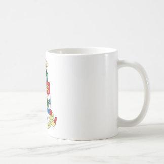 Caneca De Café Brasão do emblema de Cayman Islands