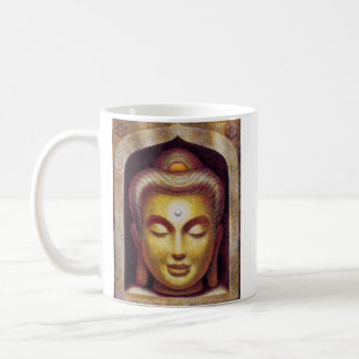 Caneca De Café Buddha dourado