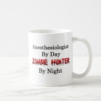 Caneca De Café Caçador do Anesthesiologist/zombi