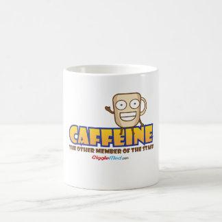 Caneca De Café Cafeína, o outro membro dos funcionarios