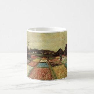 Caneca De Café Campos do bulbo de Van Gogh, belas artes da