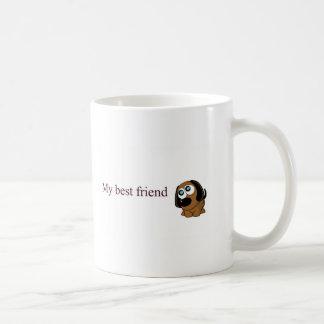 Caneca De Café Cão do melhor amigo