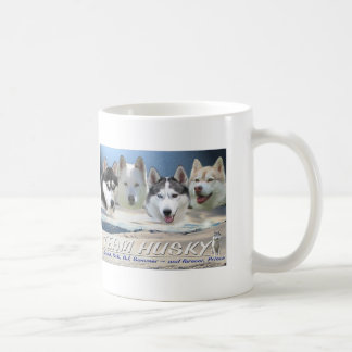Caneca De Café cão ronco que sleding