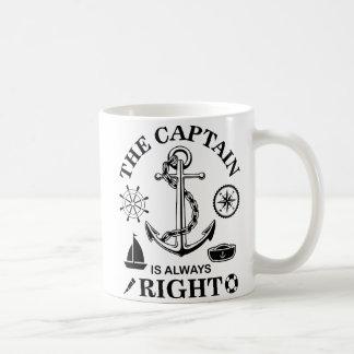 Caneca De Café Capitão Engraçado