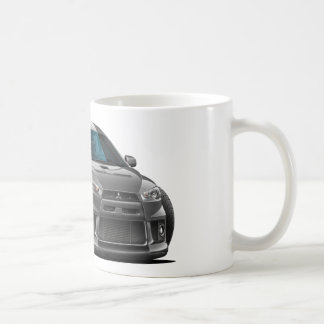 Caneca De Café Carro do cinza de Mitsubishi Evo