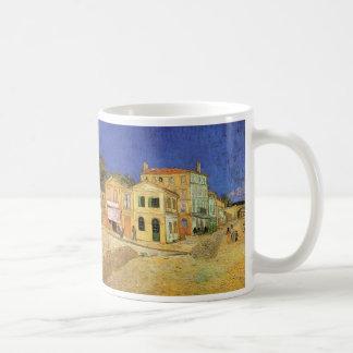 Caneca De Café Casa de Van Gogh Vincent em Arles, belas artes