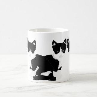 Caneca De Café cat do smoking dos persephone&hades '
